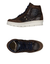 D'acquasparta High Tops And Trainers Dark Brown