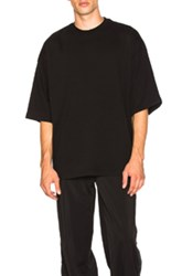 Fenty By Puma Short Sleeve Crewneck Tee In Black