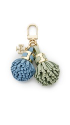 Tory Burch York Trio Tassel Keychain Multi