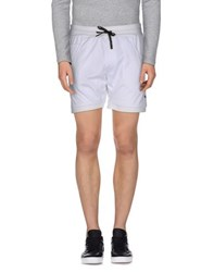 Amaranto Trousers Bermuda Shorts Men White