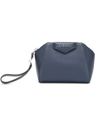 Givenchy 'Antigona' Make Up Bag Blue