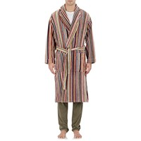 Paul Smith Striped Terry Robe Orange