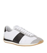 Sandro Tx 02 Canvas Sneakers Male White
