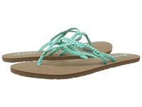 Volcom Party Aqua Women's Sandals Blue