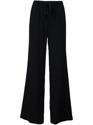 Nili Lotan Loose Fit Trousers Black