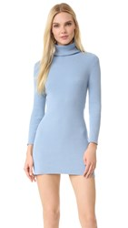 Baja East Turtleneck Sweater Dress Cove
