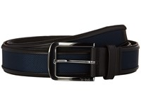 Tumi Ballistic Belt Gunmetal Navy Men's Belts Gray