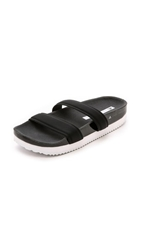 Adidas By Stella Mccartney Slide Sandals Core Black Core Black Grey
