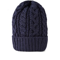 Beams Plus Cable Wool Cap Navy