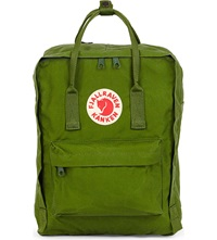 Fjall Raven Kanken Canvas Backpack Leaf Green