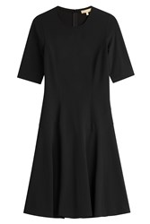 Michael Kors Collection Fit And Flare Dress Black