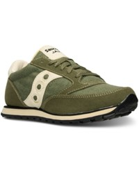 Saucony Women's Jazz Lo Pro Vegan Casual Sneakers From Finish Line Green