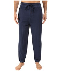 Kenneth Cole Reaction Knit Pants Navy Men's Pajama