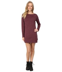 Carve Designs Talora Dress Mulberry Heather Women's Dress Burgundy