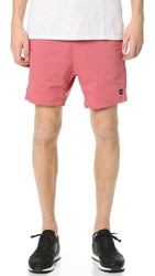 Zanerobe Playa Del Active Shorts Bleached Red