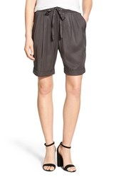 Women's James Perse Tie Waist Drape Shorts