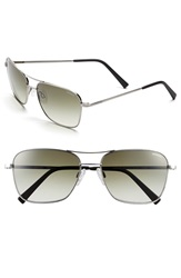Randolph Engineering 'Corsair' 58Mm Sunglasses Antique Silver Green Gradient