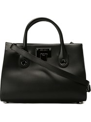 Jimmy Choo 'Riley' Tote Bag Black