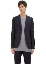 Marni Single Breasted Tailored Jacket Navy