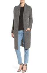 Current Elliott Women's 'The Long' Slash Back Cardigan