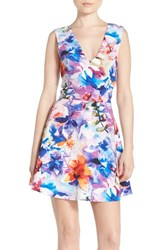Women's Felicity And Coco Back Cutout Fit And Flare Dress Cool Fall