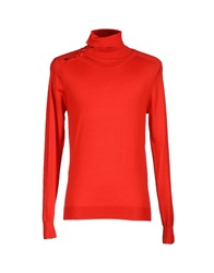 Grey Daniele Alessandrini Turtlenecks Red