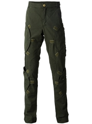 Walter Van Beirendonck Zip Pocket Cargo Trousers