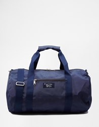 Original Penguin Duffle Bag With All Over Print Blue