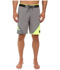 Quiksilver New Wave High 19 Boardshorts Quiet Shade Men's Swimwear Gray