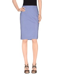 Armani Jeans Skirts Knee Length Skirts Women Blue