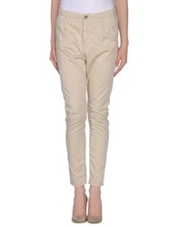 Sexy Woman Casual Pants Beige