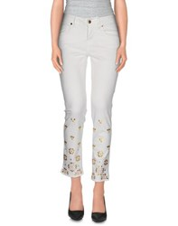 Marani Jeans Trousers Casual Trousers Women White
