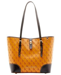 Dooney And Bourke Los Angeles Dodgers Leather Tote Royalblue