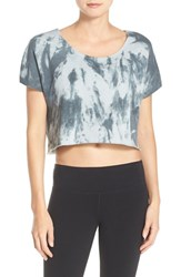 Alo Yoga Women's 'Beam' Crop Fleece Tee