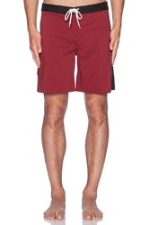 Lightning Bolt Malibu Boardshort Red