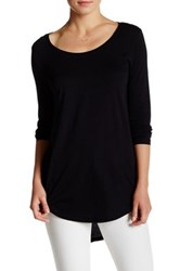 Abound Long Sleeve Basic Tee Black
