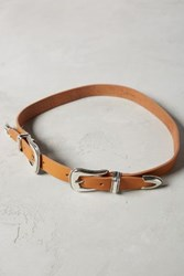 Anthropologie Gaucho Double Buckle Belt Natural