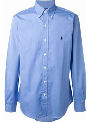 Polo Ralph Lauren Classic Button Up Shirt Blue