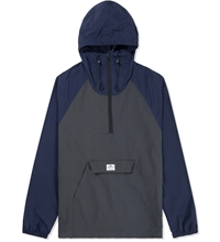 Penfield Navy Charcoal Pac Jac Packable Jacket
