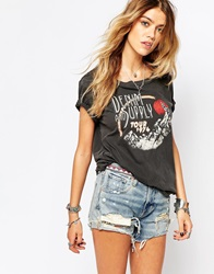 Denim And Supply Ralph Lauren Denim And Supply By Ralph Lauren Wolf T Shirt Black