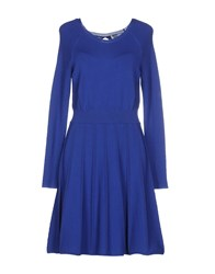 Max And Co. Dresses Short Dresses Women Dark Blue