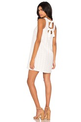 1. State Shift Dress White