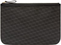Pierre Hardy Black Perspective Cube Zip Pouch