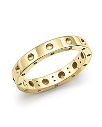 Roberto Coin 18K Yellow Gold Symphony Dotted Ring