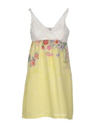 Cooperativa Pescatori Posillipo Dresses Short Dresses Women Yellow