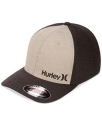 Hurley Men's Corp Text 2.0 Hat Faded Olive