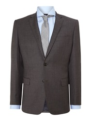 Richard James Pick N Pick Contemporary Suit Jacket Charcoal