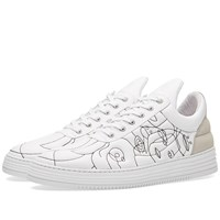 Filling Pieces Low Top Sneaker White