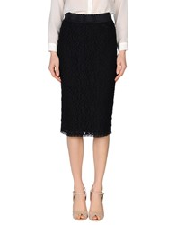 Vdp Collection Skirts 3 4 Length Skirts Women Black