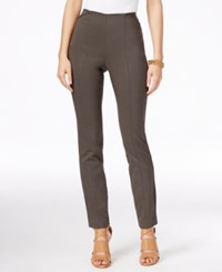 Alfani Petite Skinny Pull On Ankle Pants Only At Macy's Urban Olive